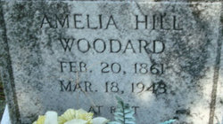 Amelia <I>Hill</I> Woodard