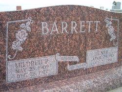 Mildred P <I>Moline</I> Barrett