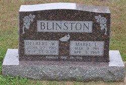 Mabel Louisa <I>Meincke</I> Blinston