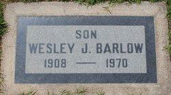 Wesley J. Barlow