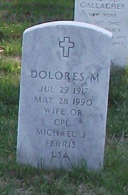 Dolores M Ferris