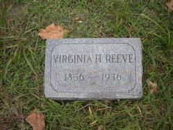 Virginia Helen <I>Horton</I> Reeve