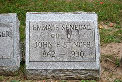 Emma F. <I>Senecal</I> Stinger