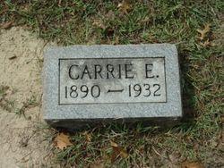 "Carolyn E. ""Carrie"" <I>Thompson</I> Burklow"