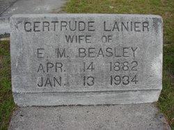 Susan Gertrude <I>Lanier</I> Beasley