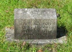 John Jack Pope