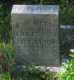 William Hicks Watts