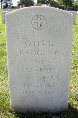 Otis L Badgley