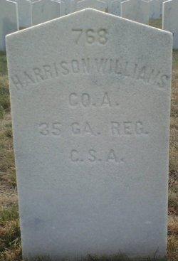 Pvt Harrison Williams