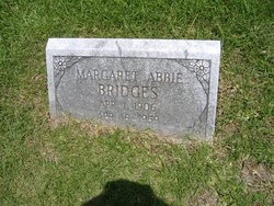Margaret Abbie <I>Brinker</I> Bridges