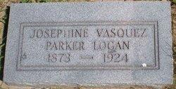 Josephine <I>Vasquez</I> Parker Logan