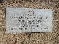 Pvt James Robert Allen