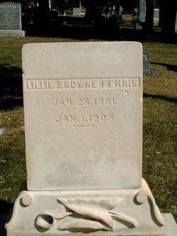 "Lillian S ""Lillie"" <I>Browne</I> Ferris"