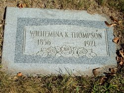 Wilhelmina K Thompson