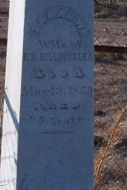 Sarah W     Turner Billingslea