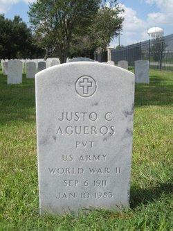 Justo C Agueros