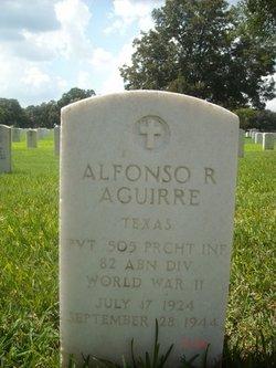 PVT Alfonso R. Aguirre