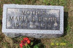 Maria E Beyer