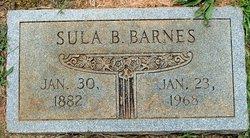 Sula <I>Benford</I> Barnes