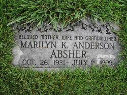 Marilyn K <I>Anderson</I> Absher