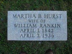 Martha Brownfield <I>Hurst</I> Rankin