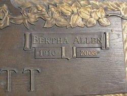 Bertha Roxey <I>Allen</I> Baskett