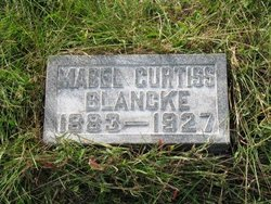 Mabel Myra <I>Curtiss</I> Blancke