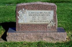 Clarissa <I>Brunson</I> Mellen