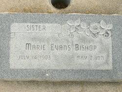 Belle Marie <I>Evans</I> Bishop