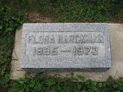 Flora <I>Fonda</I> Barckman