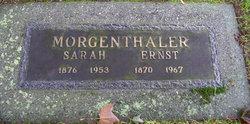 Sarah Morgenthaler