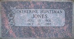 Catherine <I>Huntsman</I> Jones