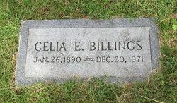 Celia Ethel <I>Raymond</I> Billings
