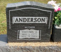 Thelma Lucille <I>Grubb</I> Anderson