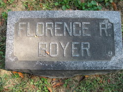 Mary Florence <I>Reeve</I> Boyer