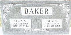 Lola Virginia <I>Whitson</I> Baker