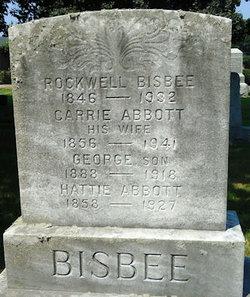 Carrie Isabelle <I>Abbott</I> Bisbee
