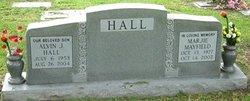 Marjie <I>Mayfield</I> Hall