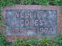 Nellie Frances <I>Bender</I> Coles