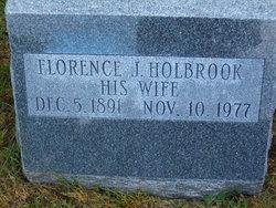 Florence J Holbrook