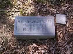 Maudie A. Callender