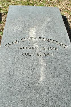 Craig Smith Bamberger, Sr
