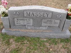 Floyce Jane <I>Faries</I> Massey