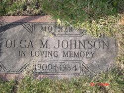 Olga M. <I>Olson</I> Johnson