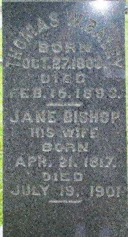 Jane <I>Bishop</I> Baley