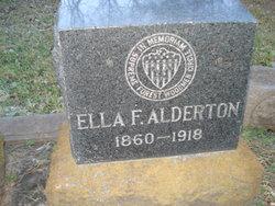 Ella F. <I>Hargrave</I> Alderton