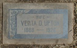 Verta Opal <I>Souder</I> Upton