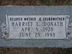 Harriet L <I>Riggen</I> Donath