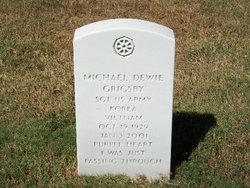 Sgt Michael Dewie Grigsby