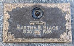Martha E <I>Watkins</I> Black